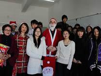 澳大利亚国际高中学生一起过圣诞节
