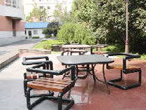 校园休息区