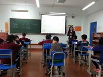 北京力迈中美学校上课