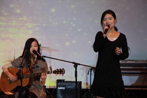 上海实验学校剑桥教育中心的圣诞迎新晚会