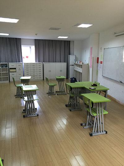 中加枫华国际小学教室