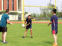 威雅公学校园橄榄球