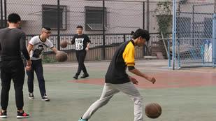 杜威国际学校篮球场