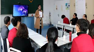 杜威国际学校2016届高一年级下学期家长会