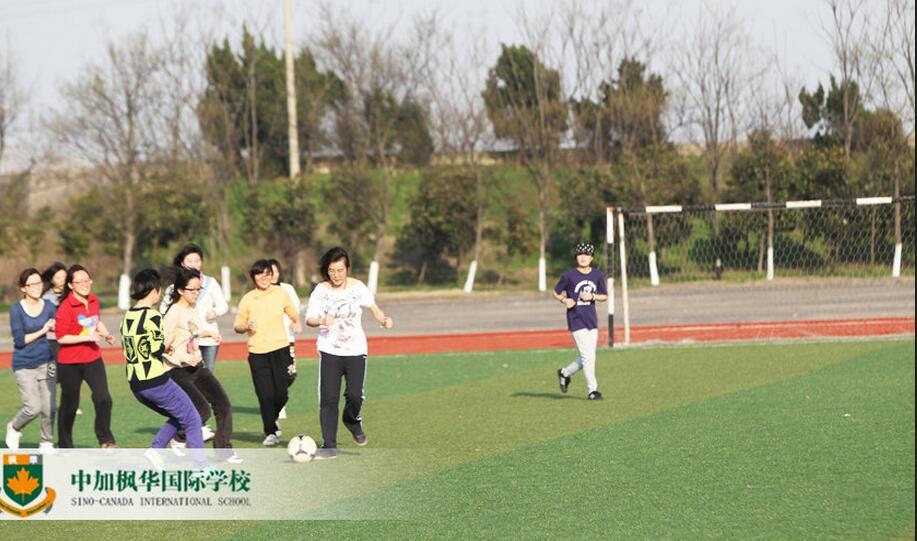 中加枫华国际学校休闲区