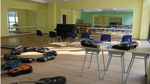 无锡协和双语国际学校音乐教室