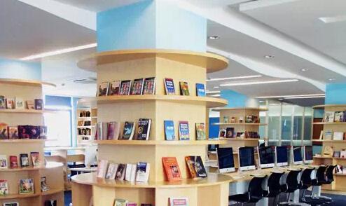 上海美高国际学校图书馆