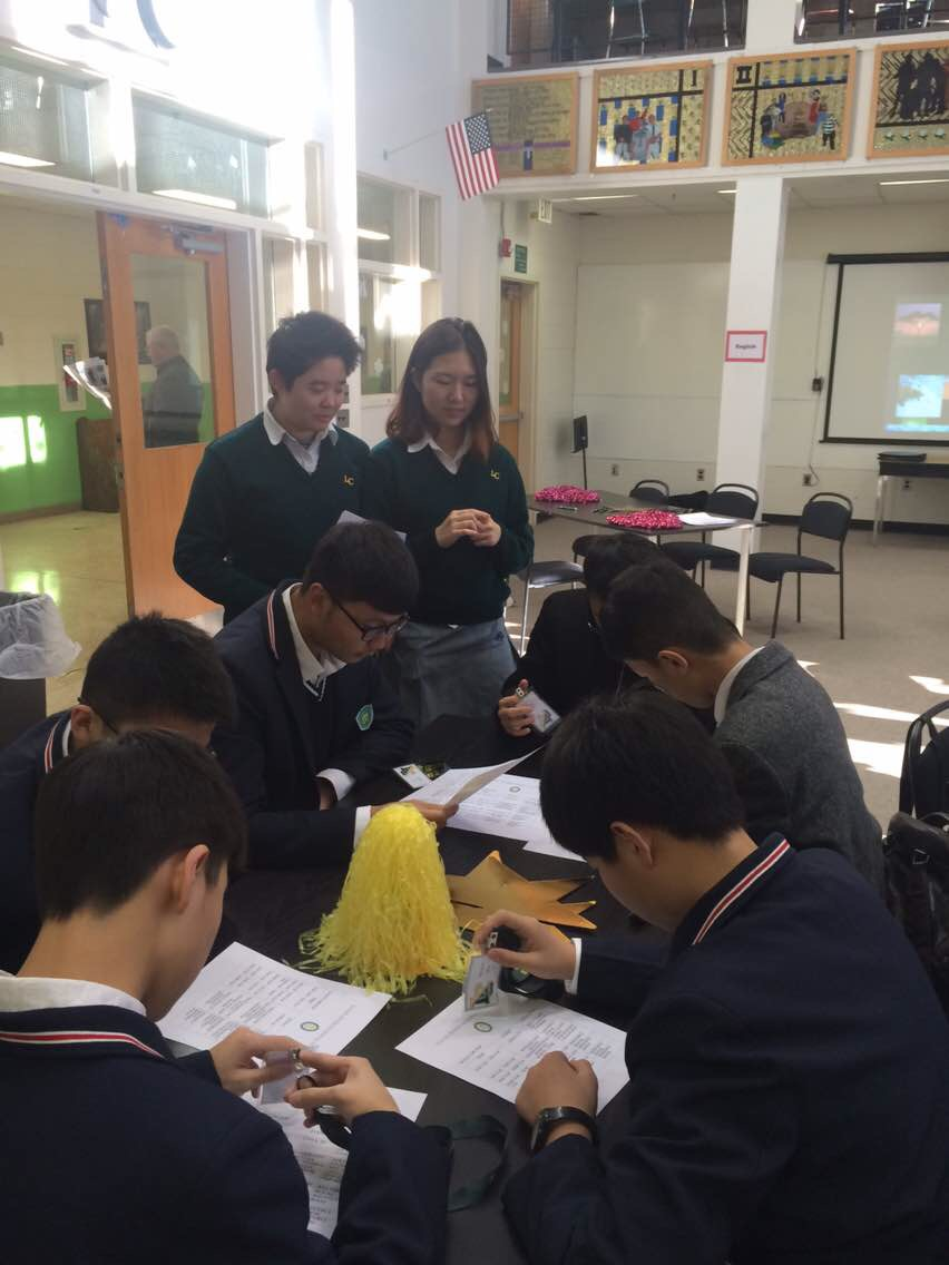 上海新虹桥中学学子