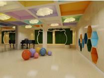 上海学乐星幼儿园地下室多功能厅