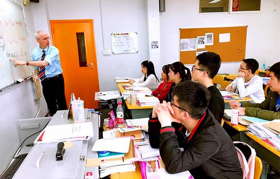 上外立泰A Level国际课程中心外教的课堂风采