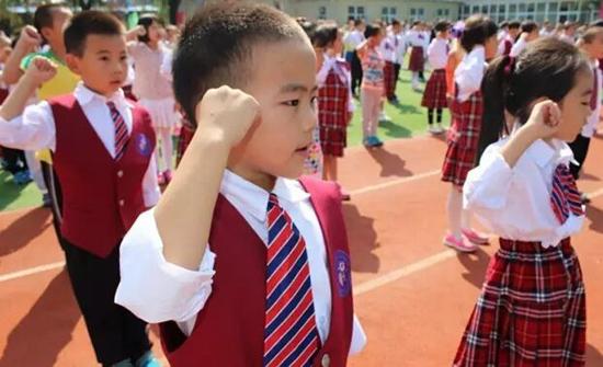 北京市顺义区博华外国语学校学生