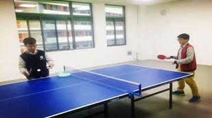 湖州帕丁顿双语学校乒乓球室