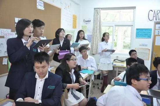 美国巴斯图高中上海校区学生