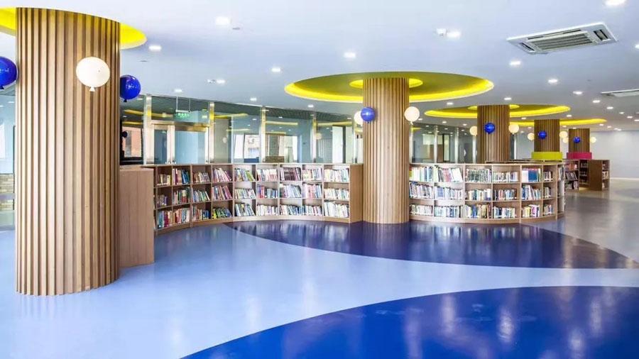 上海诺美学校图书馆