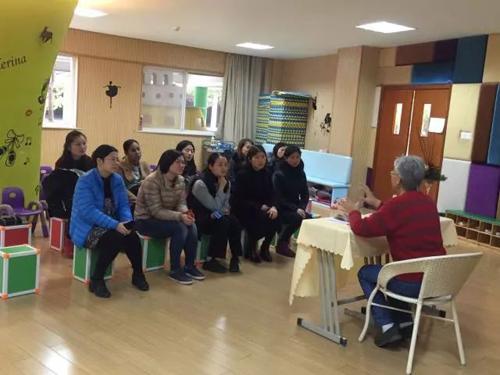 中加枫华国际学校幼儿园校医课堂
