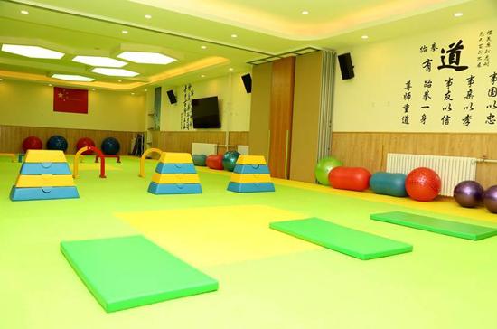幼儿园体能馆