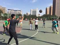 天津大学哈珀国际高中篮球场