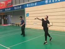 天津大学哈珀国际高中羽毛球场