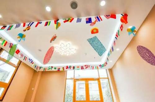 北京明诚外国语学校幼儿园一景