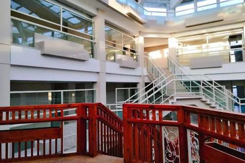 北京明誠外國語學校校園一景