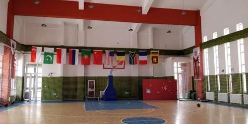 北京前景国际高中室内篮球馆