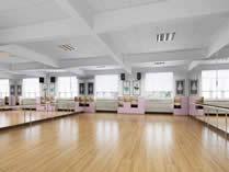 格瑞思国际学校天津校区舞蹈教室