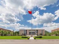 中国科学院大学培训中心剑桥国际课程中心雁栖湖校区景观