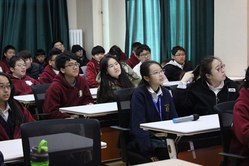 威力塔斯学校北京校区学生