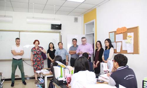 澳洲RMIT大学校领导来访北京中关村外国语学校