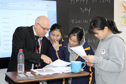 存志嘉德双语学校老师和学生