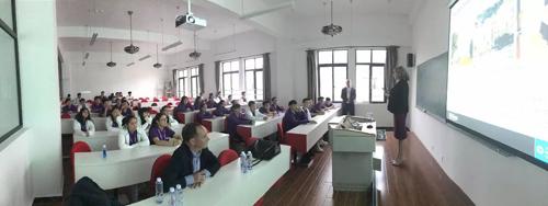 上海国王国际高中金山校区课堂