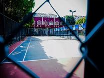 上海燎原双语学校网球场