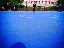 上海燎原双语学校篮球场