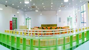 上海燎原双语学校图书馆