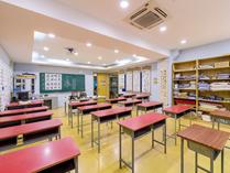 上海教科实验中学书法教室