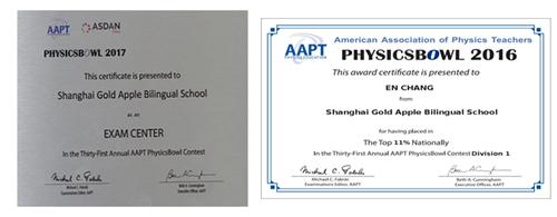 美国Physics Bow高中物理竞赛考点学校