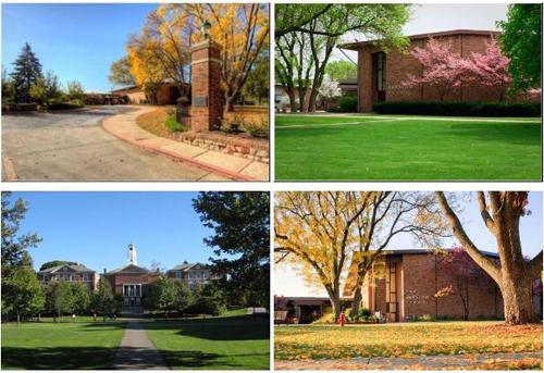 美国巴斯图中学校园环境