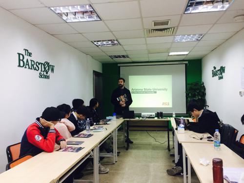 美国巴斯图高中上海分校课堂
