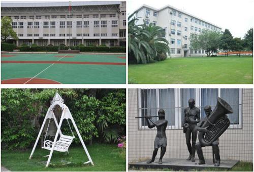 美国巴斯图高中上海分校校园环境