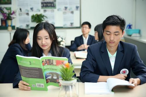 格瑞思国际学校学生