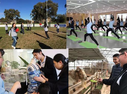 艾文豪上海校区缤纷多彩的校园生活