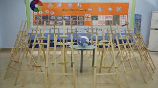 上海燎原双语学校英文部高中美术教室