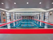 天津黑利伯瑞国际学校室内游泳池