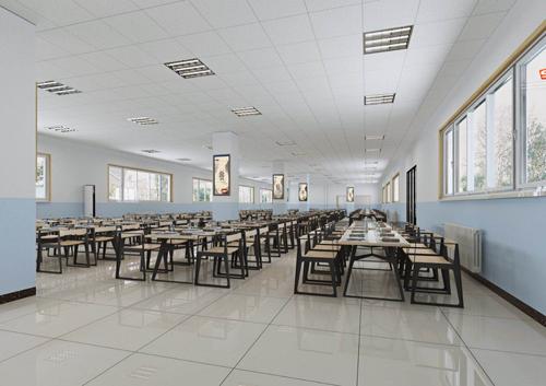 天津格瑞思学校餐厅