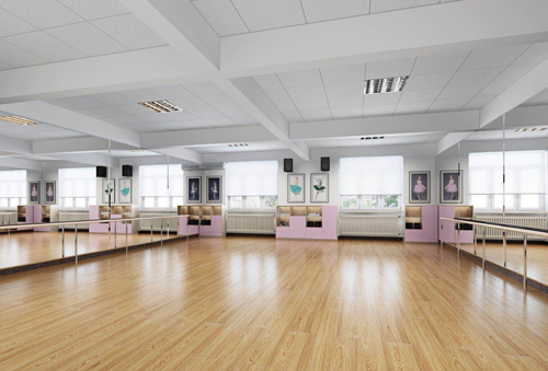天津格瑞思学校舞蹈教室