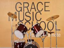 天津格瑞思国际学校音乐教室一角