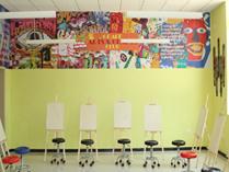 天津格瑞思国际学校艺术教室
