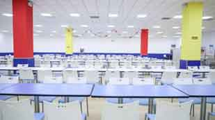 北京新府学外国语学校食堂