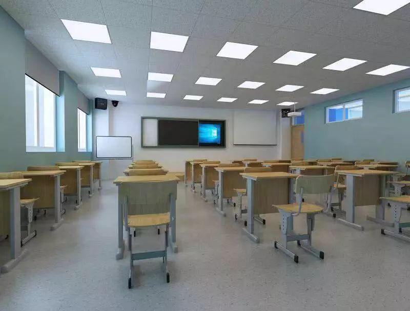 北京新府学外国语学校教室