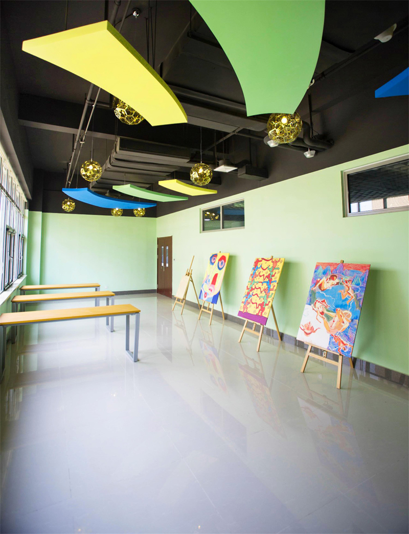 青岛盟诺国际学校教室